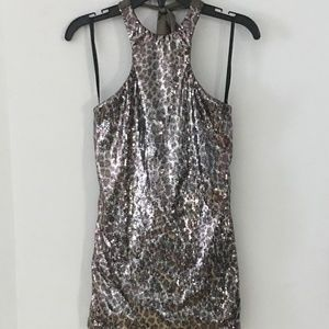 Womens Sky NEW, never worn sequined blouse